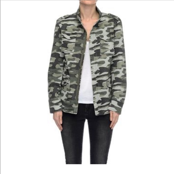 5331819856f5e Anine Bing Jackets & Coats | Camouflage Cargo Jacket | Poshmark